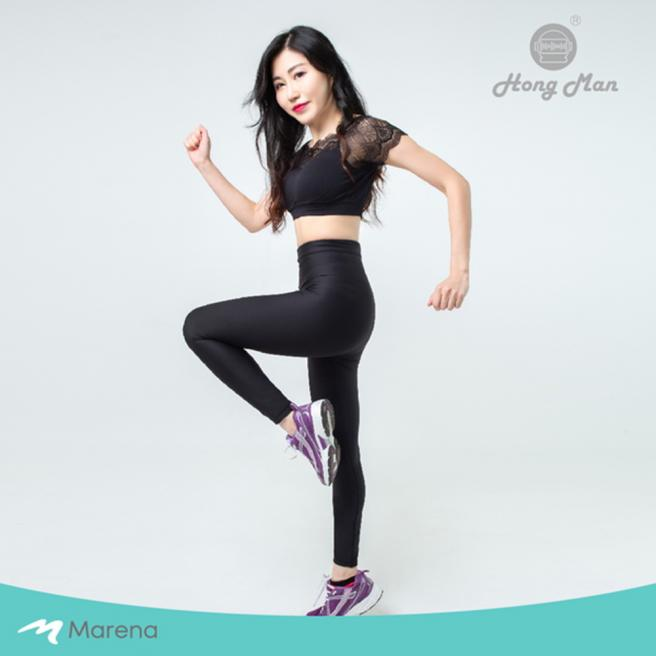 【Marena】High-Waist Compression Leggings
