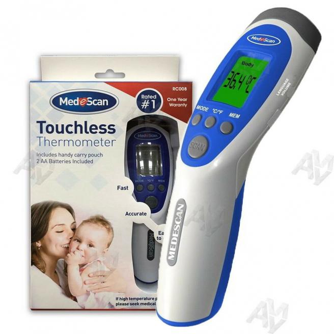 Medescan forehead thermometer (With storage bag)